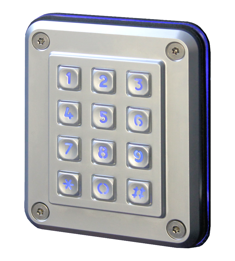 vandal resistant keypad progeny access control. Black Bedroom Furniture Sets. Home Design Ideas