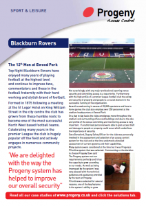 Stadium security magazine article