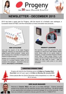 User Registration - Progeny Newsletter