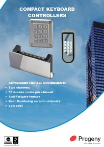 Compact Keypad Controllers datasheets