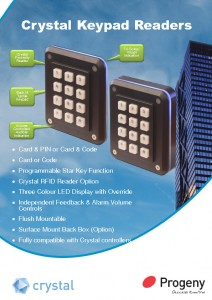 Crystal Keypad Readers datasheets