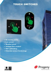 Touch switches datasheets